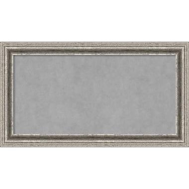 Amanti Art Framed Magnetic Board Medium Bel Volto Silver 27