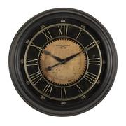"""Studio Designs Home Classic Villa Wall Clock  24"""" Antique Bronze (73001)"""