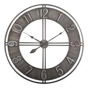 "Studio Designs Home Industrial Loft Wall Clock 30"" Steel (73003)"