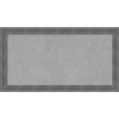 Amanti Art Framed Magnetic Board Medium Dixie Grey Rustic 26