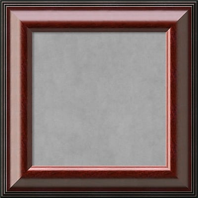 Amanti Art Small Square Cambridge Mahogany 16