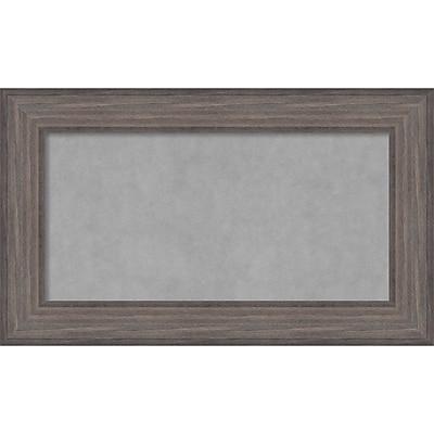 Amanti Art Framed Magnetic Board Medium Country Barnwood 30