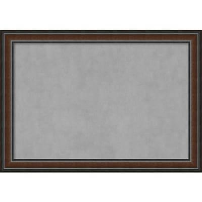 Amanti Art Framed Cork Board Medium Black Luxor 30