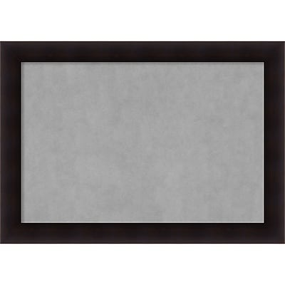 Amanti Art Framed Magnetic Board Extra Large Portico Espresso 42