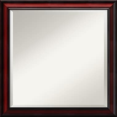 Amanti Art Wall Mirror Square Rubino Cherry Scoop 23