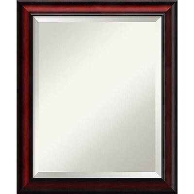 Amanti Art Wall Mirror Medium Rubino Cherry Scoop 19