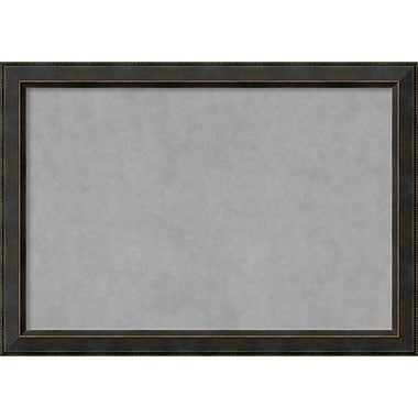 Amanti Art Framed Magnetic Board Extra Large Signore Bronze 41