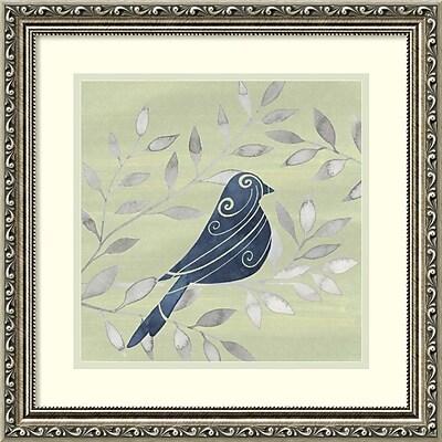 Amanti Art Framed Art Print Serene Silhouette IV (Bird) by Grace Popp 19