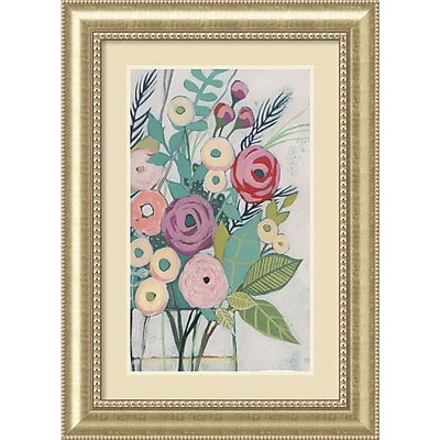 Amanti Art Framed Art Print Soft Spring Bouquet I (Floral) by Grace Popp 31