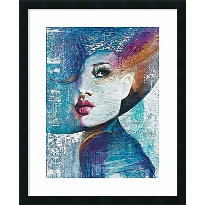 Amanti Art Framed Art Print Angie by Colin John Staples 26 x 32 frame satin Black (DSW3909427)