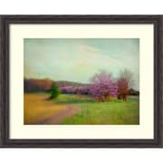 "Amanti Art Framed Art Print Nature Is Divine by Dawn D. Hanna 33""W x 27""H, Frame Rustic Pine (DSW3909433)"