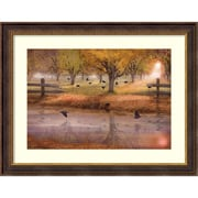 """Amanti Art Framed Art Print Remembering Everlasting Peace by David M (Maclean) 41""""W x 32""""H Frame Gold (DSW3909453)"""