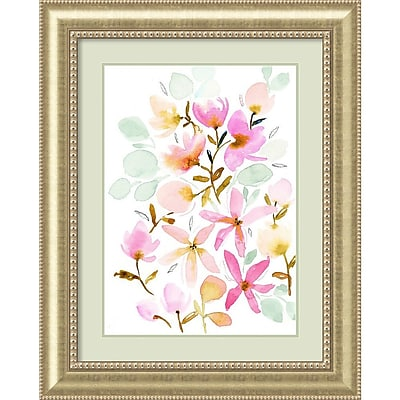 Amanti Art Framed Art Print Dreams in Pastel (Floral) by Joy Ting 33