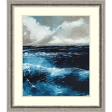 Amanti Art Framed Art Print Rolling Sea by Stuart Roy 29