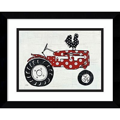 Amanti Art Framed Art Print Modern Americana Farm V Tractor by Melissa Averinos 15