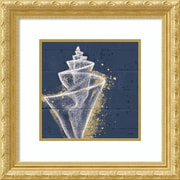 Amanti Art Framed Art Print Calm Seas VIII no Words by Janelle Penner 22 x 22, Frame Gold (DSW3909733)