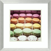 """Amanti Art Framed Art Print Paris Moments VIII by Laura Marshall 20""""W x 20""""H, Frame Brushed Steel (DSW3909747)"""