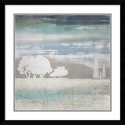 """""""""""Amanti Art Framed Art Print From the Earth II by Louis Duncan-he 23""""""""""""""""W x 23""""""""""""""""H, Frame Satin Black (DSW3910558)"""""""""""" 24010844"""
