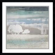 "Amanti Art Framed Art Print From the Earth II by Louis Duncan-he  23""W x 23""H, Frame Satin Black (DSW3910558)"