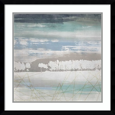 """""""""""Amanti Art Framed Art Print From the Earth I by Louis Duncan-he 23""""""""""""""""W x 23""""""""""""""""H, Frame Satin Black (DSW3910559)"""""""""""" 24010884"""