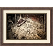 "Amanti Art Framed Art Print Harvest by Matt Marten 27""W x 20""H, Frame Rustic Wood (DSW3910640)"