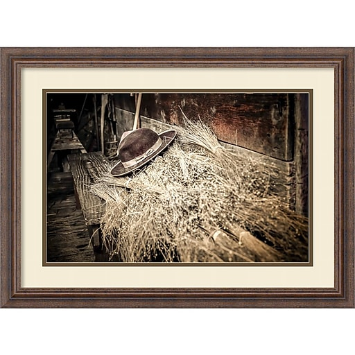 amanti art framed art print harvest by matt marten 27 w x 20 h frame rustic wood dsw3910640. Black Bedroom Furniture Sets. Home Design Ideas