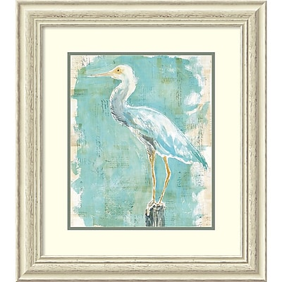 Amanti Art Framed Art Print Coastal Egret II v2 by Sue Schlabach 25