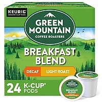 Deals on 24 Pack Green Mountain Breakfast Blend Coffee Keurig K-Cup Pods