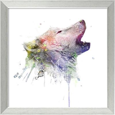 Amanti Art Framed Art Print Wolf by Veebee 18