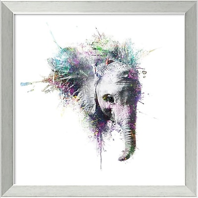 Amanti Art Framed Art Print Elephant by Veebee 18