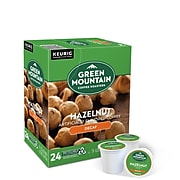 Green Mountain Hazelnut Decaf Coffee, Keurig® K-Cup® Pods, Light Roast, 24/Box (7792)