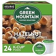 Green Mountain Hazelnut Coffee, Keurig® K-Cup® Pods, Light Roast, 24/Box (6792)