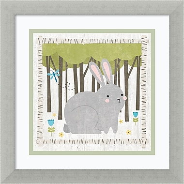 Amanti Art Framed Art Print Woodland Hideaway Bunny by Moira Hershey 13