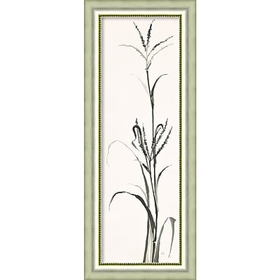 Amanti Art Framed Art Print Gray Grasses IV by Chris Paschke 18
