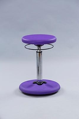 Kore Kids Adjustable Height Wobble Chair, Purple (KOR2599)