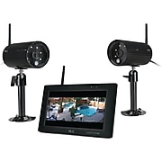 """ALC AWS3377 Observer HD 1080p Full HD 4-Channel 7"""" Touchscreen Monitor with 2 Cameras"""