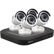 Swann SWDVK-8HD5MP4-US 8-Channel HD5MP Series 5.0-Megapixel DVR with 2TB HD and 4 Bullet Cameras