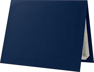 LUX Certificate Holders 50/Pack, Dark Blue Linen (EL185DDBLU10050) 24161793