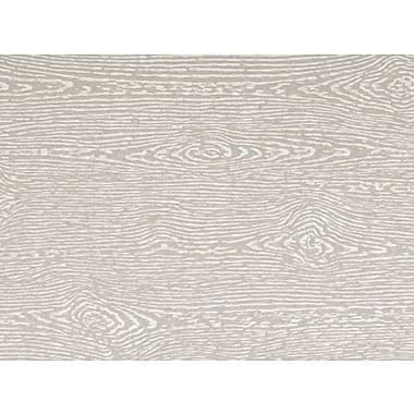 LUX A6 Flat Card (4 5/8 x 6 1/4) 250/Pack, Brasilia Gray Woodgrain (4030-C-S05-250)