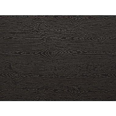 LUX A7 Flat Card (5 1/8 x 7) 250/Pack, Brasilia Black Woodgrain (4040-C-S04-250)