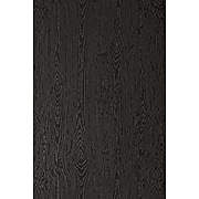 LUX 12 x 18 Cardstock 50/Pack, Brasilia Black Woodgrain (1218-C-S04-50)