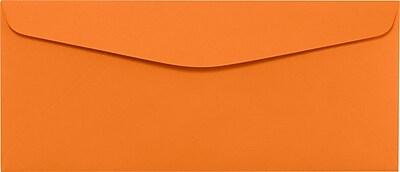 LUX #10 Regular Envelopes (4 1/8 x 9 1/2) 500/Pack, Mandarin (LUX-4260-11-500)