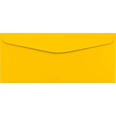 LUX #10 Regular Envelopes (4 1/8 x 9 1/2) 1000/Pack, Sunflower (LUX4260121000)