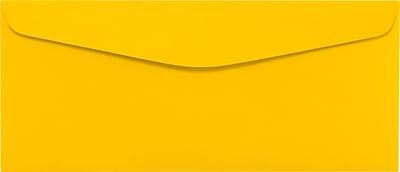 LUX #10 Regular Envelopes (4 1/8 x 9 1/2) 1000/Pack, Sunflower (LUX4260121000)