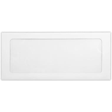 LUX #10 Full Face Window Envelopes (4 1/8 x 9 1/2) 500/Pack, 80lb. White (FFW-10-80W-500)