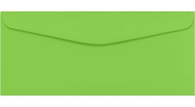 LUX #9 Regular Envelopes (3 7/8 x 8 7/8) 500/Pack, Limelight (LUX4855101500)