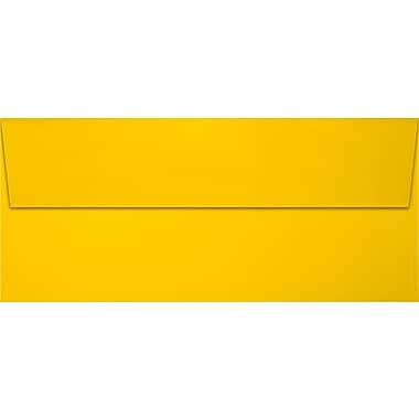 LUX Slimline Invitation Envelopes (3 7/8 x 8 7/8) 1000/Pack, Sunflower (LUX72973121000)