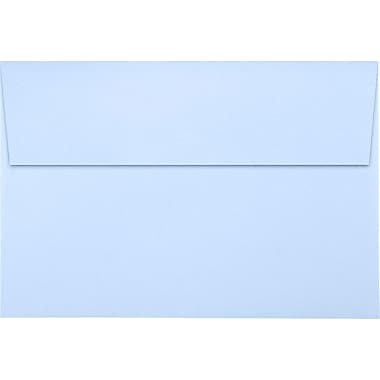 LUX A8 Invitation Envelopes (5 1/2 x 8 1/8) 500/Pack, Baby Blue (LUX-4885-13-500)