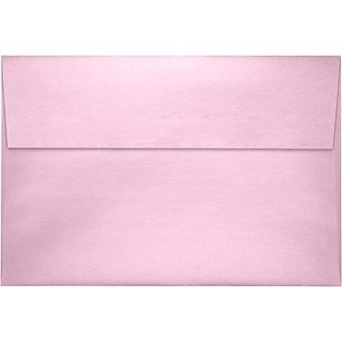 LUX A8 Invitation Envelopes (5 1/2 x 8 1/8) 250/Pack, Rose Quartz Metallic (4885-04-250)