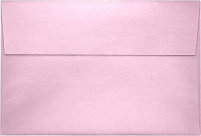 LUX A8 Invitation Envelopes (5 1/2 x 8 1/8) 250/Pack, Rose Quartz Metallic (4885-04-250)